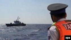 Lực lượng tuần duyên Việt Nam trên Biển Đông. (Ảnh tư liệu)