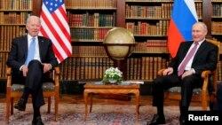 FILE PHOTO: U.S.-Russia summit in Geneva