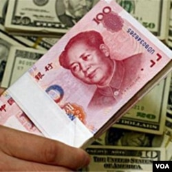 Beijing membantah nilai tukar mata uang Yuan sebagai penyebab utama defisit perdagangan AS.