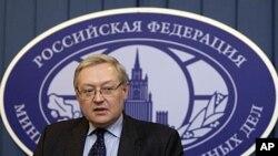 俄罗斯副外长瑞亚布柯夫 (资料)