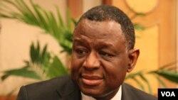 Dr. Babatunde Osotimehin UNFPA Executive Director (VOA/Ron Corben)
