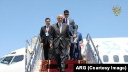 Əfqanıstan Prezidenti Əşrəf Qani