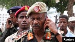Kwamandan sojojin Somaliya a yankin Baidoa, Abdukadir Ali Dini.
