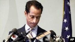 El ex legislador demócrata por Nueva York Anthony Weiner renunció al Congreso federal en 2012.