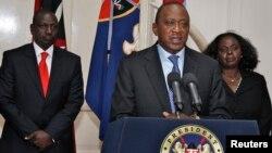 우후루 케냐타 케냐 대통령이 24일 긴급 TV 대국민 연설에서 쇼핑몰 테러 진압작전이 일단락됐지만 완전히 종료됐는지는 확실치 않다고 밝혔다.