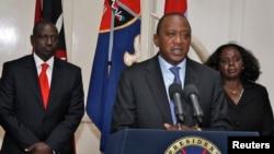肯尼亞總統肯雅塔9月24日在電視上宣佈,已經擊敗襲擊內羅畢一座商廈的恐怖分子﹐並宣佈將為死難者舉行三天哀悼。