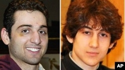 Brothers Tamerlan Tsarnaev, left, and Dzhokhar Tsarnaev are accused of carrying out the Boston Marathon bombing. Tamerlan was closely monitored while in Dagestan last year.