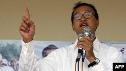 Tòa Thượng thẩm Campuchia giữ nguyên phán quyến về bản án 2 năm tù đối với lãnh tụ đối lập Sam Rainsy vì tội nhổ cột mốc biên giới với Việt Nam