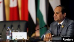 Le président égyptien Abdel-Fattah. (Reuters/Amr Abdallah Dalsh)