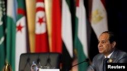 عبدالفتاح السیسی، رئیس جمهوری مصر