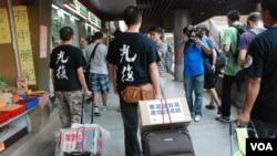 香港團體呼籲當局取消一簽多行