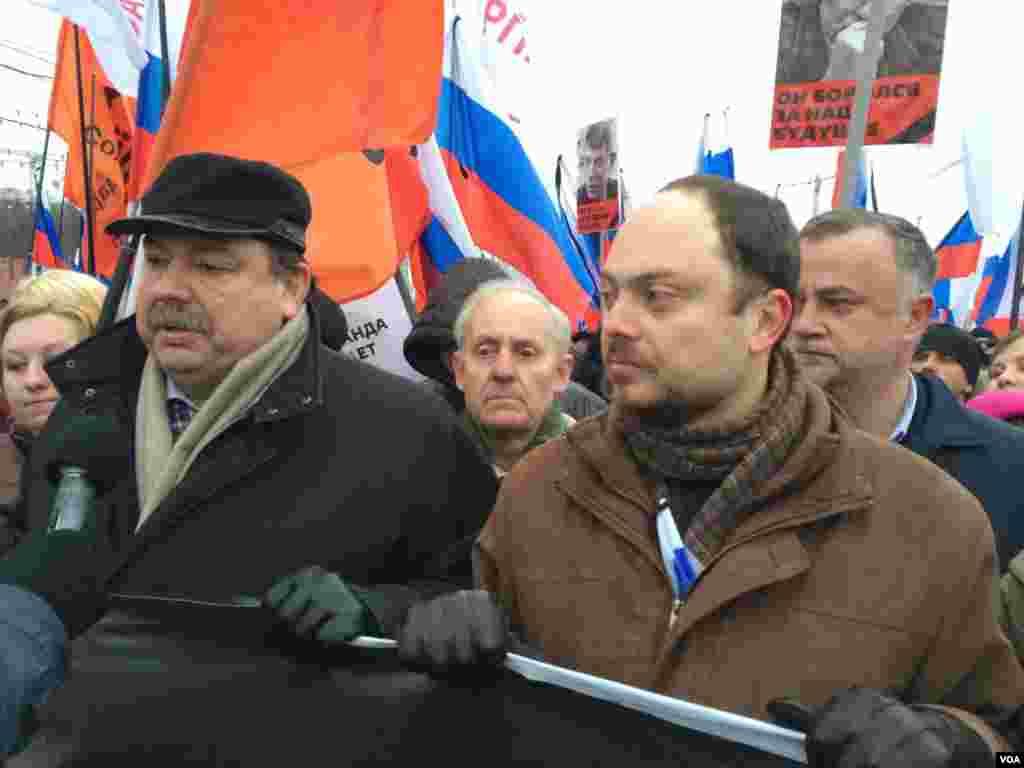 Геннадий Гудков и Владимир Кара-Мурза-младший