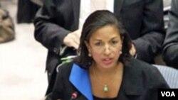 Duta Besar AS untuk PBB, Susan Rice.