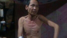 Ảnh mới nhất của nhà đấu tranh cho dân chủ Đinh Đăng Định.