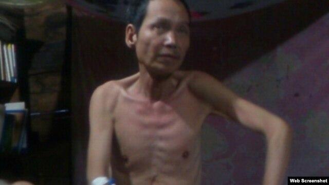 Ảnh mới nhất của nhà đấu tranh cho dân chủ Đinh Đăng Định