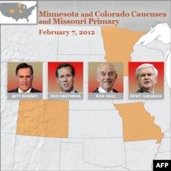 Minnesota, Kolorado va Missuri uchun bellashuv 7 fevralda