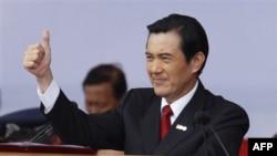 Президент Тайваня Ма Инцзю. Тайбэй. 10 октября 2011 г.