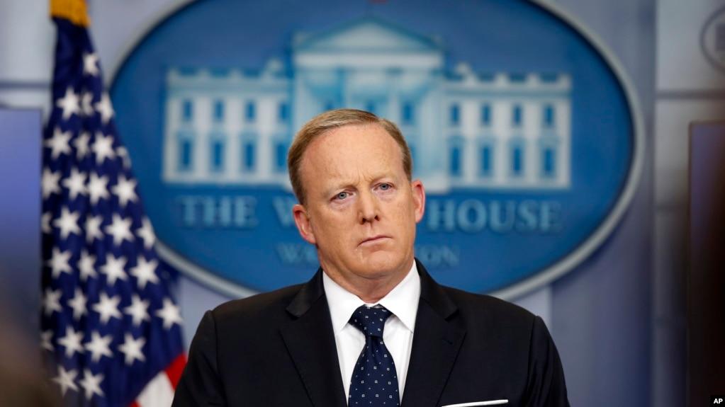 Cựu Phát ngôn viên Toà Bạch Ốc Sean Spicer.