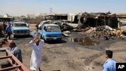 بمبگذاری انتحاری در یک منطقه شیعه نشین در عراق؛ ژوئیه ۲۰۱۶