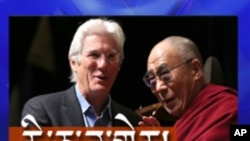 Richard Gere talks to VOA Tibetan