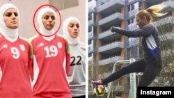 شیوا امینی در خارج از ایران و در زمان حضور در تیم ملی فوتسال ایران