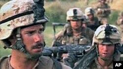 在阿富汗的美国军人