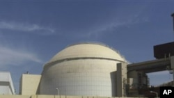 Reactor building of the Bushehr nuclear power plant (file photo)
