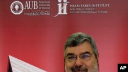 Rami Khouri, the Director of the Issam Fares Institute of Public Policy and International Affairs at the American University of Beirut, Lebanon