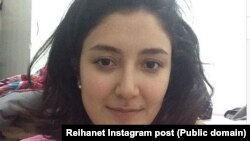 被释放的6名伊朗女子之一(2014年5月21日)