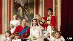 Cặp tân hôn hoàng gia Anh, hoàng tử William và phu nhân