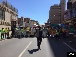 Anti-xenophobia protest.