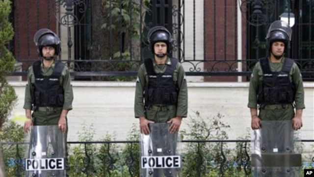 Police officers in Tehran (file photo)