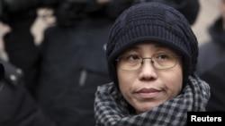 诺贝尔和平奖得主刘晓波的妻子刘霞(资料照)