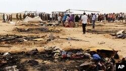 靠近利比亚边境的突尼斯舒沙营地