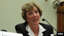 미국 연방 하원의원 출마를 선언한 수전 숄티 디펜스포럼 대표. (자료사진)