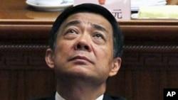 时任重庆市委书记的薄熙来人大会议期间