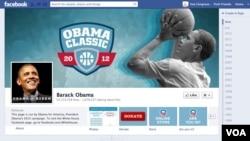 奥巴马的脸书主页
