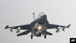 F-16 제트전투기 (자료사진)