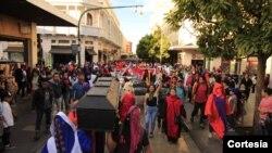 La Huelga de Dolores es organizada por un grupo de estudiantes de la Universidad de San Carlos, quienes en los últimos días han sido víctimas de actos de violencia.