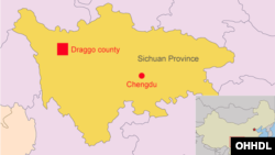 Map of Drago County of Eastern Tibet (source:rfa.org)