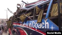 Explosion d'un bus à Peshawar