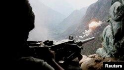 نیروهای امنیتی افغانستان در کنر