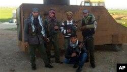 Şervanên YPG li Kobanê