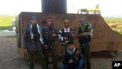 敘利亞反政府武裝人員