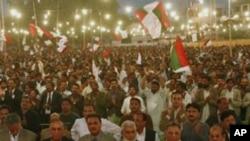 کشیدگی های سیاسی در پاکستان