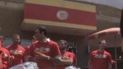 Новая вашингтонская традиция – состязания по поеданию гамбургеров