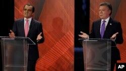 Juan Manuel Santos y Óscar Iván Zuluaga, lucharán por la presidencia este domingo, en medio de una polarización por la paz.
