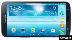 El nuevo teléfono inteligente de Samsung mide 6.3 pulgadas (16 centímetros), lo que según la compañía facilita su uso a quienes prefieren ver películas, jugar videos o leer libros desde su aparato móvil.