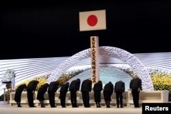 جاپان میں فوکو شیما جوہری حادثے میں ہلاک شدگان کی یاد میں ہونے والی تقریبات