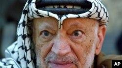 ကြယ္လြန္သူ ပါလက္စတုိင္းေခါင္းေဆာင္ Yasser Arafat